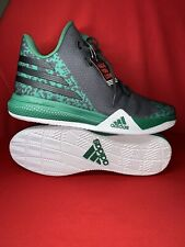 Adidas Light Em Up 2 Basketball Shoe Men's Size 15 AQ8047 Green/Black