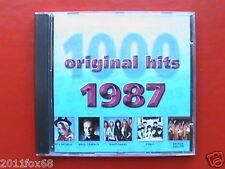 boy george t'pau whitesnake marillion 1000 original hits 1987 Raro CD 2001