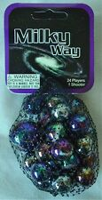 Milky Way- Net Bag Of 24 Player Mega Marbles & 1 Shooter-Instructions & Facts