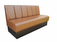 Bench/Booth/Fixed seating *Deluxe Fluted Back Style* Commercial & Domestic