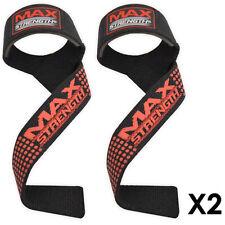 Padded Bar Straps Hand Wrist Gym Training Bodybuilding Bandages Weightlifting