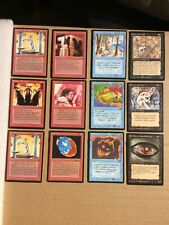 1993/94 Magic the Gathering Card Game 12 Mix Cards