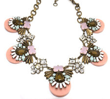 J.Crew Crystal & Stone Statement Necklace