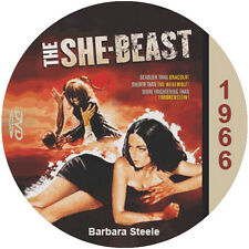 "She Beast (1966) Sci-Fi and Horror ""B"" NR CULT Movie DVD"