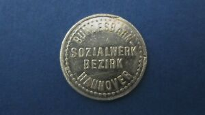 Deposit Brand Bundesbahn Sozialwerk Hanover 20 Pfg. Me. Digital 13534.1 (6738)