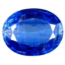 3.89 ct AA+ Elegant Oval Shape (11 x 9 mm) Blue Kyanite Natural Gemstone