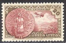 Mexico #C61 Selten Postfrisch - 1934 20p Kalender Stein