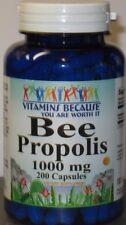 Bee Propolis 200 Capsules 1000 mg/serving