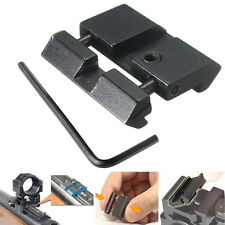 Dovetail to Weaver Picatinny Adapter Snap In Rail 11- 22mm Converter Scope Mount