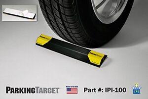 Garage Parking Aid Stopper Curb Wheel Driveway Rubber Park Guide Block Stop Car