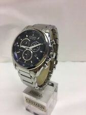 Citizen Men's Eco Drive Chronograph Stainless Steel Bracelet Watch H500-S082005
