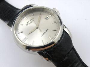 Rotary Mens Swiss Automatic Sapphire Aquaspeed Watch - 100m