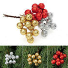 1Set String Glitter Christmas Balls Baubles Xmas Tree Party Ornament Decor Craft