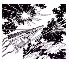 Original STAR WARS art ROCKET'S BLAST COMICOLLECTOR 139