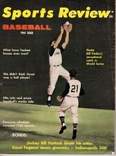 1961 Sports Review Baseball magazine, Bill Virdon, Roberto Clemente, Pirates~Fr
