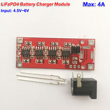 4A Fast Charging Module 3.2V/3.6V LiFePO4 Lithium iron Battery Charger Board