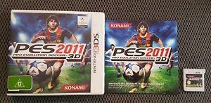 Pro Evolution Soccer 2011 3D PES Nintendo 3DS Free Postage