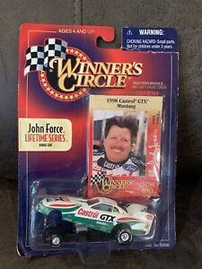 WINNER'S CIRCLE JOHN FORCE LIFETIME SERIES 1998 CASTROL GTX MUSTANG