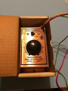 MRC Cab Control 55 Transistorized for HO, N Gauge trains w/box & instructions