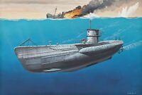 Revell 05093 - 1/350 Deutsches U-Boot Type Vii C - Neu