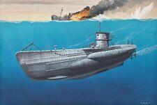 Revell 05093 - 1/350 submarino alemán Type VII C-nuevo