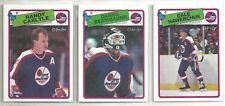 1988-89 O-PEE-CHEE Hockey Winnipeg Jets 13-card Team Set Dale Hawerchuk