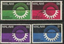 MALAWI 1967 INDUSTRIAL DEVELOPMENT Sc#65-8 COMPLETE VF USED 2141