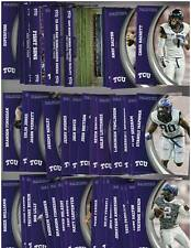 2016 Panini TCU Frogs Collegiate Collection Complete Set 47 Cards   - NM-MT