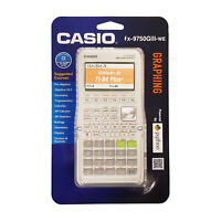 Casio FX-9750GIII-WE White Graphing Calculator