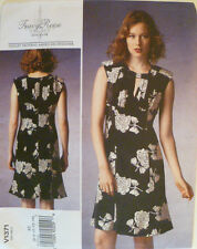 NEW VOGUE Tracy Reese Pleated Bodice Dress Pattern V1371 Sz misses 6, 8,10,12,14