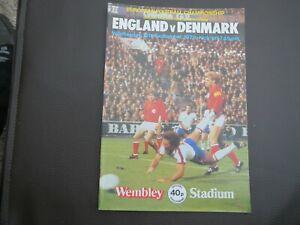 England V  Denmark  1979