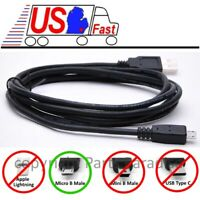 6ft USB Micro 5pin Digital Camera/Phone/Charger/Sync/Data/Device Cable/Cord/Wire