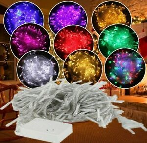 10M 100Led String Garland Christmas Tree Fairy Waterproof Light  Party Outdoor