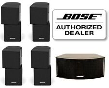 NEW BOSE black Jewel Cube Speakers sealed 5 piece (4 double 1 horizontal center)