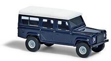 Busch 8372 ESCALA N, land rover defender azul # NUEVO EN EMB. orig. #
