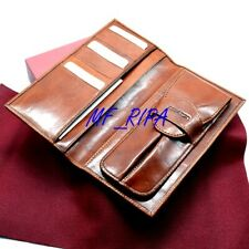 PiQuadro Portafogli / Portapenne - Wallet / Pen Holder - Leather - Never used