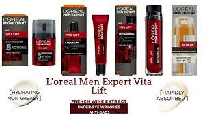 L'oreal Men Expert New Vita Lift Anti-Ageing Cream, Moisturisers and Gel Bran Ne