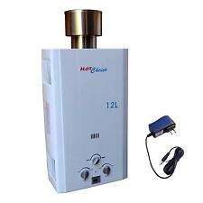 Brand New Outdoor Lpg Propane Gas Tankless Water Heater 12L / 3.2Gpm
