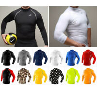 Take Five Mens Skin Tight Compression Base Layer Running Shirt S~2XL 001-1