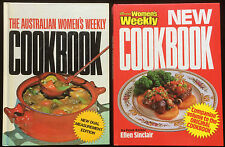 Australian Women's Weekly Original & New Cookbooks Retro Recipes 2 BOOKS