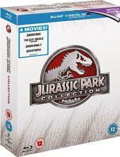 Jurassic Park 4 movie Collection (Blu-ray) *BRAND NEW*