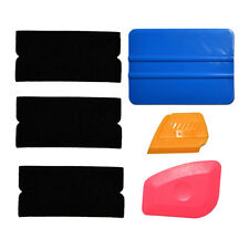 Vinyl Film Squeegee Felt Scraper Car Decals Film Wrap Window Tinting Tool Kit UK