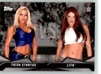 2016 WWE Divas Revolution Rivalries #1 Trish Stratus Lita