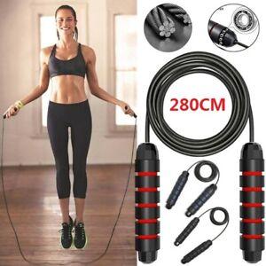 Ideal f/ür Boxen Speed Rope Springseil Erwachsene Fitness mit Verstellbare Stahlseil Profi Seilspringen mit Kugellager /& Anti-Rutsch Griffe MMA,Abnehmen,Crossfit,Training PullPritt Springseil