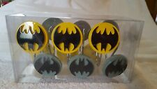Dc Comics Batman Logo Shower Curtain Rings Hooks Set
