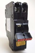 FPE American NC250 2 Pole 50A Circuit Breaker Red Handle Professionally Tested