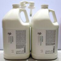 ISO Hydra Cleanse Shampoo & Conditioner Gallon Set plus Pumps Condition 128 oz