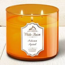 1 Bath & Body Works AUTUMN APRICOT Large Scented 3-Wick Candle 14.5 oz