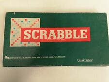 Scrabble board game Spears Vintage, Complete!
