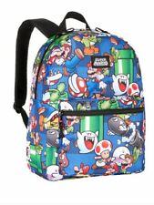 "NEW Bioworld Nintendo Super Mario Bros. 16"" Backpack"